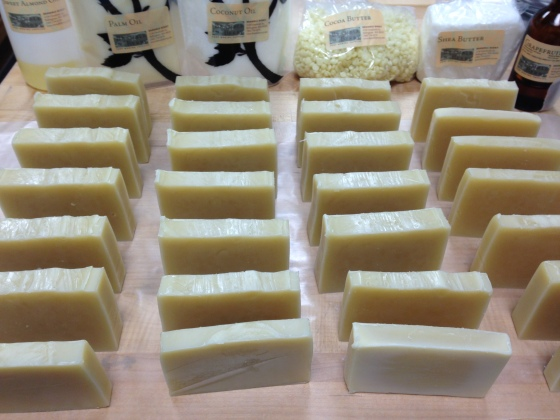 Cold Process all natural soap made in San Francisco by Lianna Piccetti