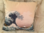 Designer Pillows made in San Francisco from repurposed fabric pieces